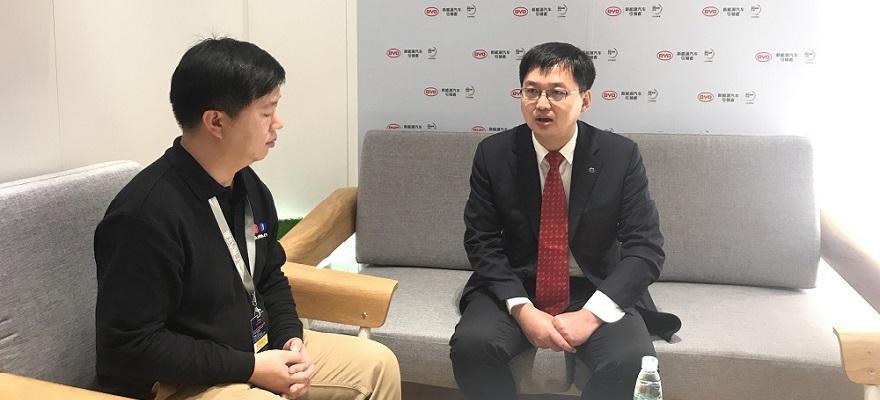 2018广州车展专访 比亚迪公关部总监杨昭