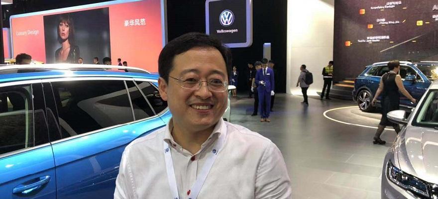 2018广州车展专访 一汽-大众品牌战略经理高松